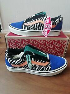 chaussure zebre vans