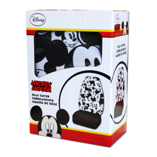 FOR KIA NEW MICKEY MOUSE 10PC CAR SEAT COVERS FLOOR MATS AND ACCESSORIES SET