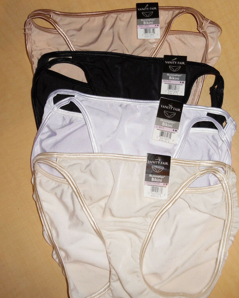 4 Vanity Fair Bikini Panty Set Illumination 18108 6 M Evereyday Essential colors
