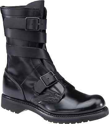 "HH CORCORAN BRAND TANKER BOOTS 10"" BLACK LEATHER 5407 NEW IN BOX"