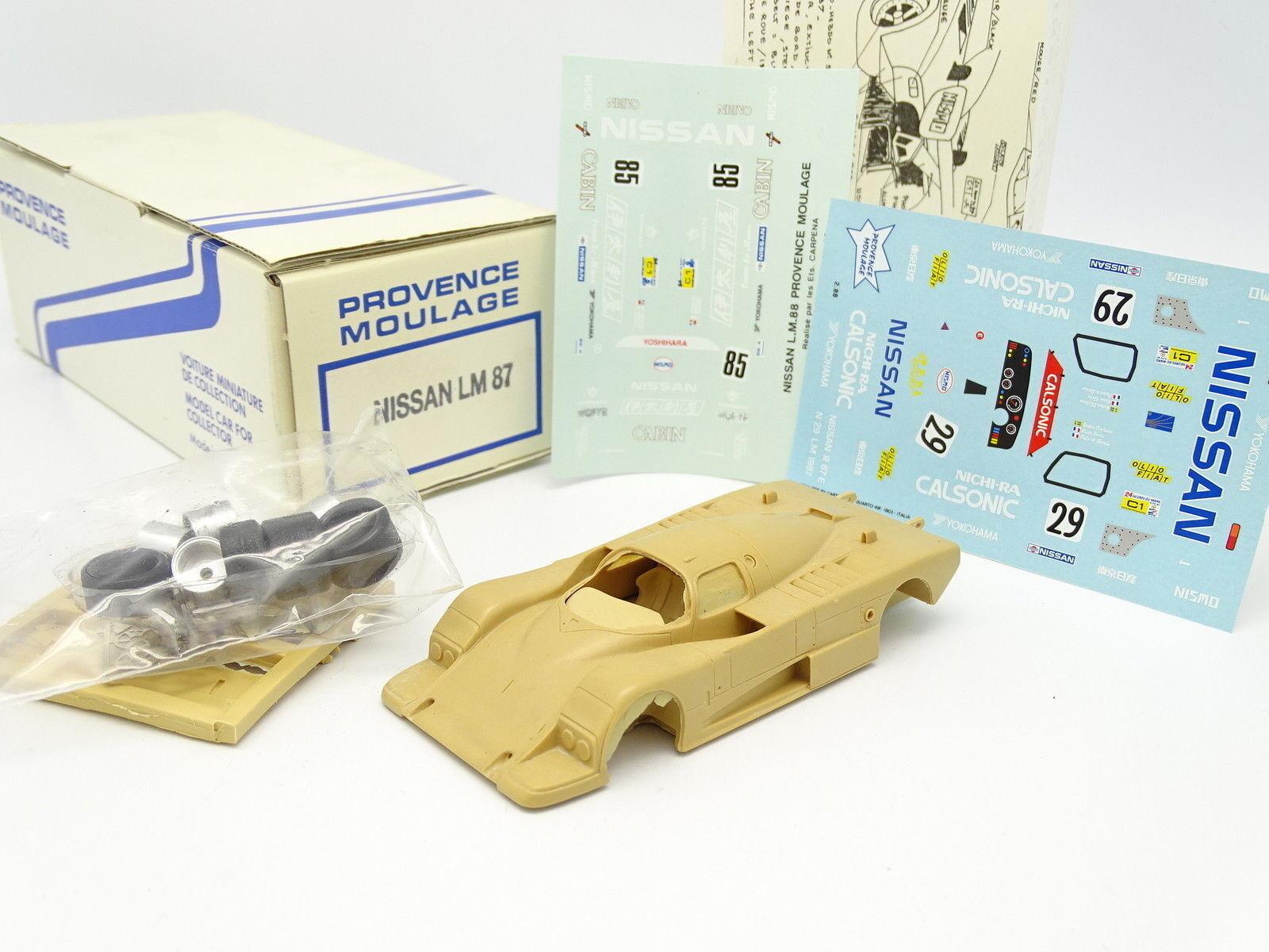 Provence Riproduzione Kit à Monter 1 43 - Nissan R87 R87 R87 Le Mans 1987 N.29 e n°85 c8be4a