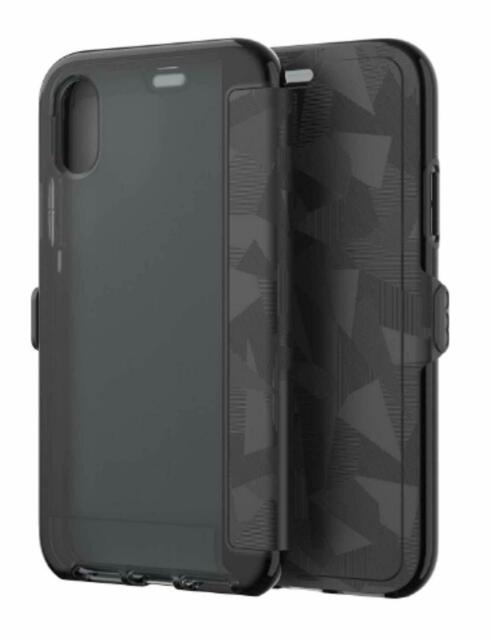 100% authentic 32142 02086 tech21 EVO Wallet Case for Apple iPhone X Black/camo