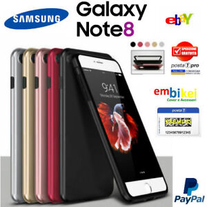 Custodia-Samsung-GALAXY-NOTE-8-Cover-Fronte-Retro-360-Full-Body-Touch