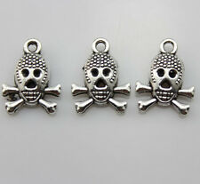 20 pcs ancient silver Retro Beautiful Gas mask alloy charm pendant