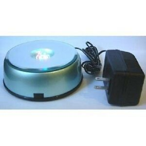 4-Led-Light-Stand-Turntable-Night-Light-Rotating-Base-for-Laser-Crystals-Colored