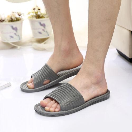 Men Women Summer Home Hotel Bathing Shower Sandals Flip Flop Slippers Shoes 34CA