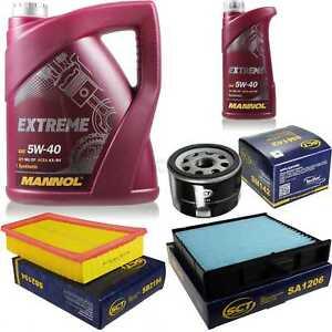 Inspeccion-filtro-de-paquetes-set-petroleo-MANNOL-5w40-6l-para-renault-scenic-ii-jm0-1