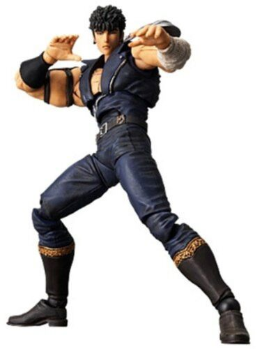 USED Revoltech Fist of the North Star Revolution No.001 Kenshiro Figure Kaiyodo