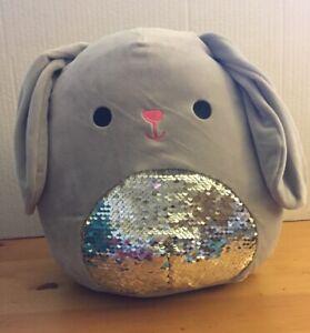 "Squishmallows 7"" Blake the Bunny Rabbit Grey Gray Easter Plush Kellytoy NEW"