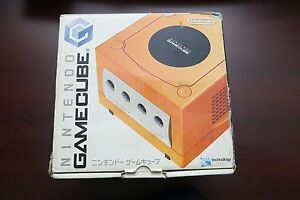 Nintendo-GameCube-console-orange-boxed-Japan-system-US-seller