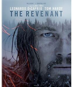 The Revenant (Blu-ray Disc, 2016, Includes Digital Copy) NEW