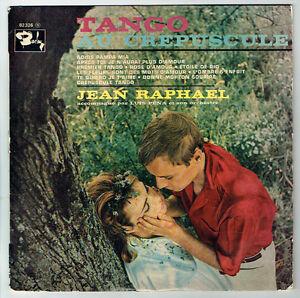 33T-25cm-TANGO-CREPUSCULE-Disque-Jean-RAPHAEL-amp-Luis-PENA-Orchestre-BARCLAY