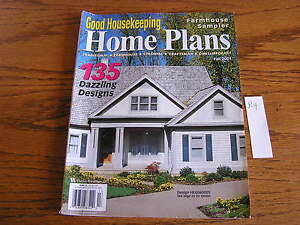 Image Is Loading Good Housekeeping Farmhouse Home House Plan Ideas Design