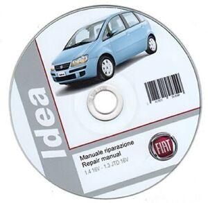 fiat idea workshop manual repair manual ebay rh ebay co uk manual fiat idea 2010 manual fiat idea 2008