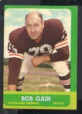 1963 Topps Football Card #23 Bob Gain-Cleveland Browns