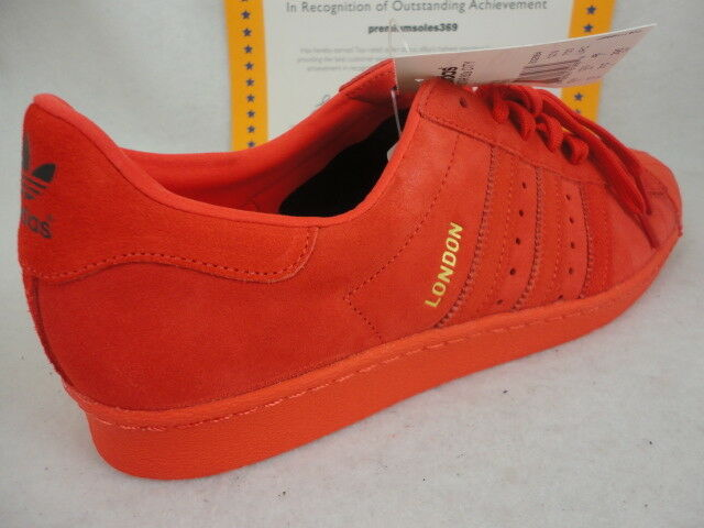 Superstar Adidas 80's Series, 11.5 Size , Red Suede, Edition