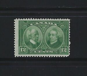 CANADA-147-12c-LAURIER-amp-MACDONALD-MINT-STAMP-1927-MNH-HISTORICAL-ISSUE