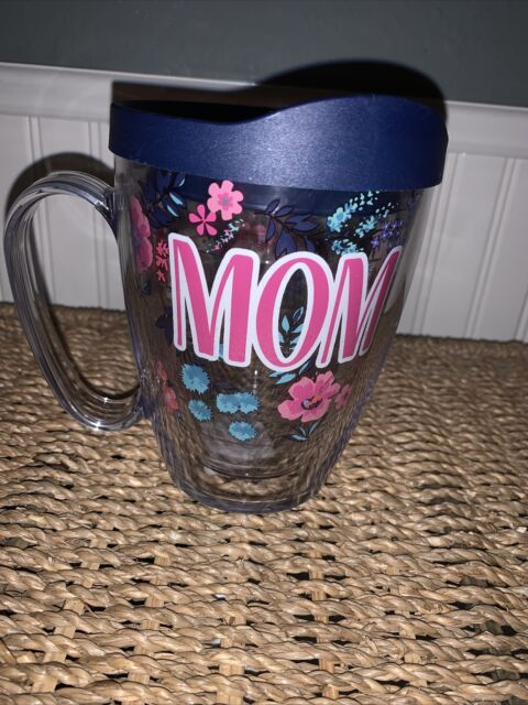 Clear Tritan 16 Oz Mug Tervis Grandma Dainty Floral Insulated Tumbler With Wrap And Lid Travel Mugs Tumblers Informationmania Home Kitchen