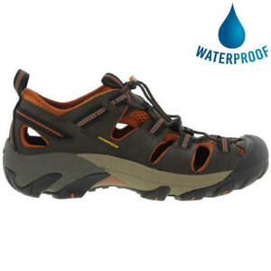 Keen-Arroyo-II-Mens-Dark-Brown-Waterproof-Walking-Hiking-Water-Sandals-Size-8-14
