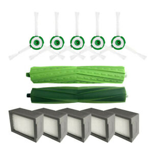 Aspirateur-Rouleau-Cote-Brosse-Filtre-Piece-Set-Kit-pour-Irobot-Roomba-I7-I7