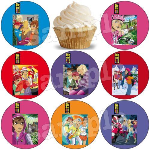 Die drei !!!Geburtstag eßbar Tortenaufleger Tortenbild Party Deko Ausrufezeichen