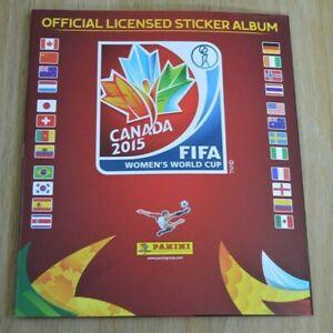 Panini Frauen WM 2015 Canada Leeralbum Sammelalbum Sticker World Cup Kanada