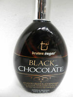 Black Chocolate 200x Black Bronzer Indoor Tanning Bed Lotion Tan Inc Brown Sugar on sale