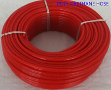 Engine Gas Fuel Oil Injection PU Line Tubing Tube Hose 5mm x 8mm @ 5 Mtr RED