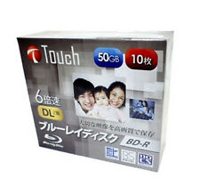 Touch 50gb BD-R DL 10pack dvd dl hd 6x bluray Repack Import Japan