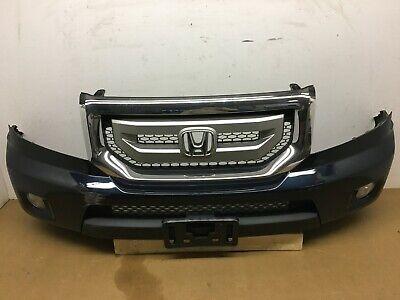 Front Bumper Cover For 2009-2011 Honda Pilot Touring Model w// sensor hole Primed