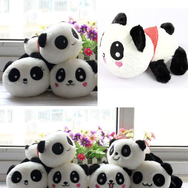 "NEW Plush Toys Doll Stuffed Animal  Panda Pillow Quality Bolster Gift 20cm 8"""