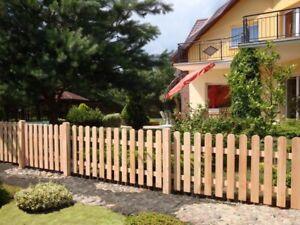 Kleiner Holzzaun gartenzaun lärche holzzaun zaun friesenzaun vorgartenzaun 180x100 cm