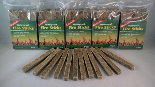 72 imperméable à l/'eau Fire Starter bâtons de carburant d/'urgence Cook Chaleur