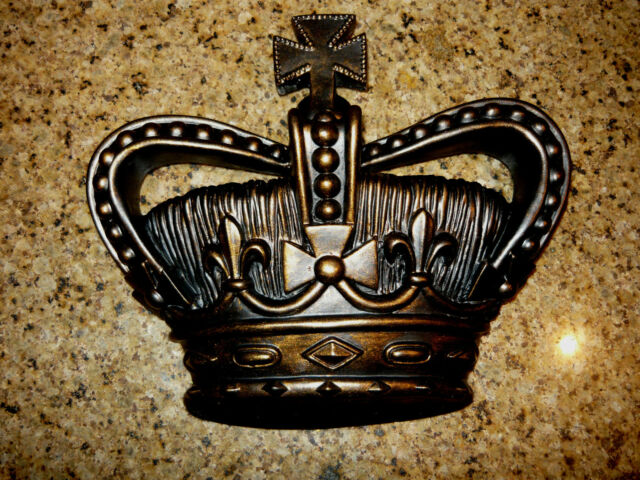 Crown, Wall Plaque, Old World, Medieval, Cross, Fleur de Lis, Princess, Handmade
