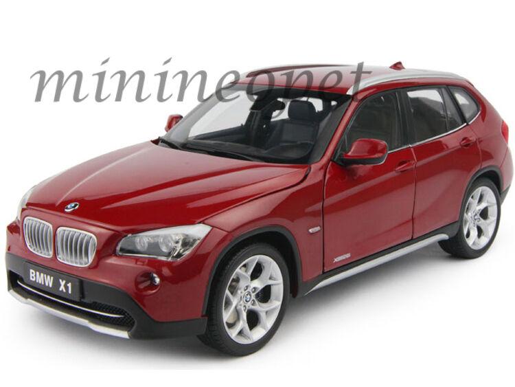 KYOSHO 08791VR BMW X1 xDRIVE 28i E84 SUV 1 18 DIECAST VERMILLION RED
