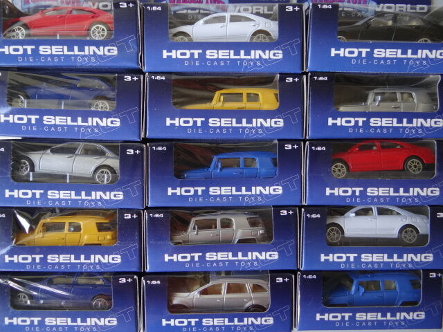 Die-cast Models 1:64, in a Box, New, Different variations and Colors