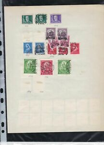 hungary early stamps page ref 18147