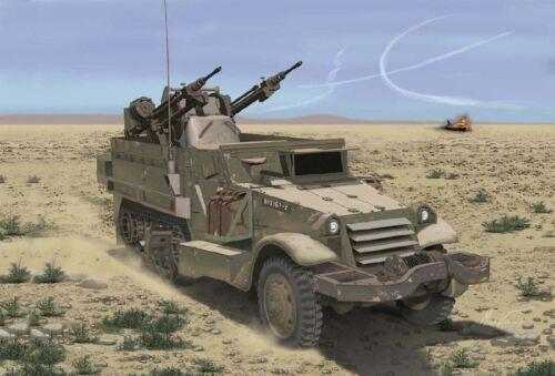 1//35 DRAGON IDF M3 HALFTRACK W//TCM-20 AA GUN DR3586
