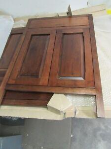 KITCHEN BATHROOM BASE CABINET DOORS SOLID WALNUT W/FACE ...