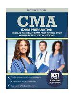 Cma Exam Preparation: Medical Assistant Exam Prep Review Book W... Free Shipping