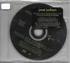 JANET JACKSON - Whoops Now - CDS - Promo CD - VSCDJ 1533 - UK
