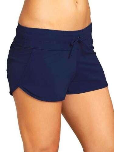 Dress Blue NWT Athleta Kata Swim Short sz Medium   #983914