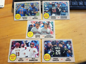 2017-Topps-Heritage-High-Insert-Singles-Fill-your-set-you-pick-choice-1968