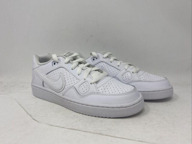 Por lo tanto manzana fresa  Nike Son of Force PS Kids Shoe Size 2.5y 615152-007 Blue Black White for  sale online | eBay