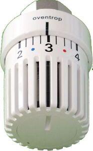 Oventrop Uni LH Thermostat Fühler Regler Heizkörper Thermostatkopf 1011465 weiß