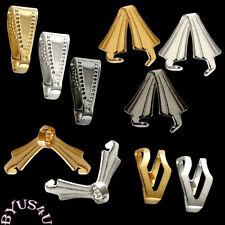 BAIL PENDANT and PRONG STYLES WITH INLAID DESIGN 25pcs
