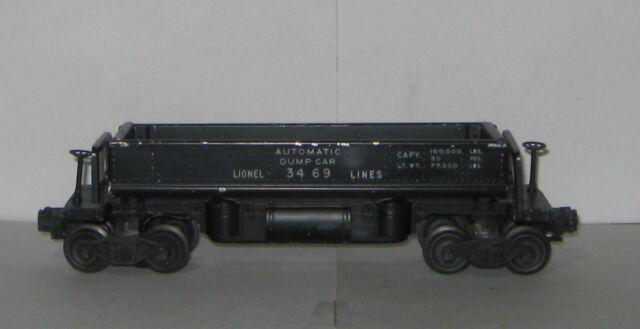 LIONEL POSTWAR #3469 AUTOMATIC DUMP CAR