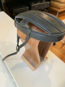 Helmet hat bead vintage reproduction leather velo race annee 60 70 eroica