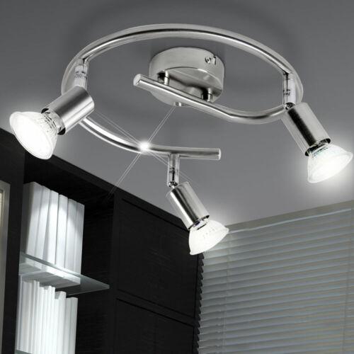 LED Decken Wand Tisch Leuchte Lampe Strahler System Spot`s beweglich Wohn Zimmer