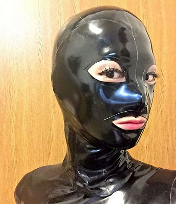 Platex Latex Rubber Hood with chloration Nouveau RRP £ 150